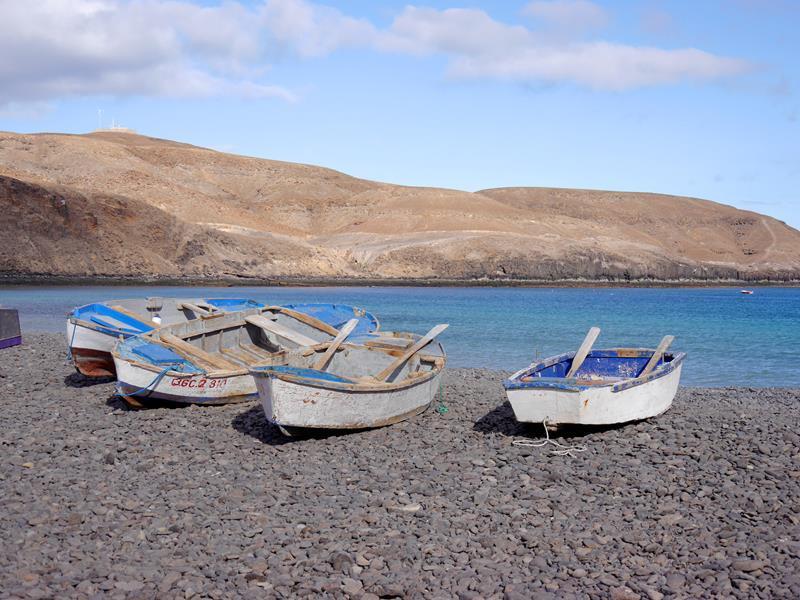Boote in der Bucht